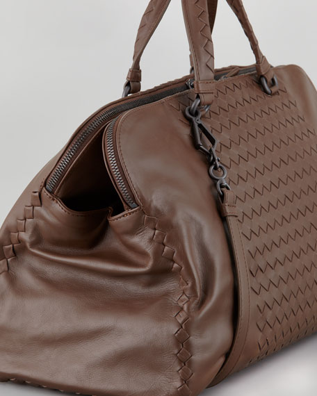 Compartment Boston Bag