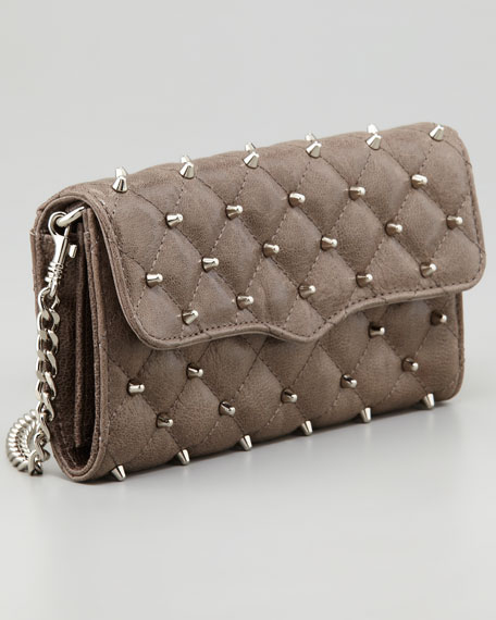 Studded Wallet-on-Chain, Charcoal