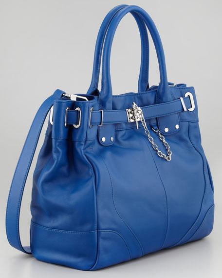 Zoe Deux Large Tote Bag, Sapphire