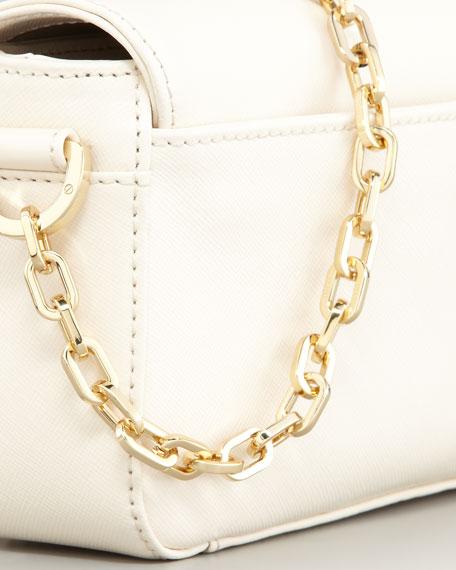 Robinson Chain-Strap Mini Bag, Bleach White