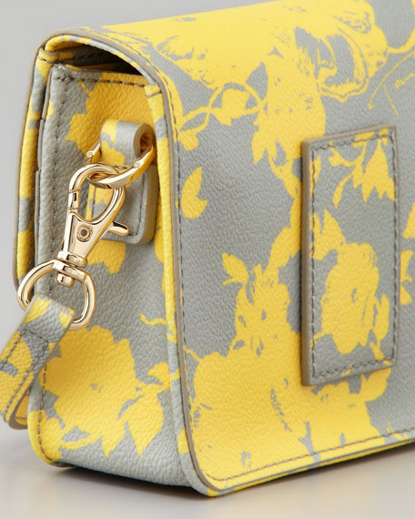 Robinson Floral-Print Mini Crossbody Bag, Daisy Multi