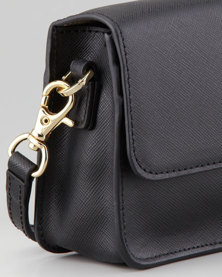 Robinson Mini Crossbody Bag, Black