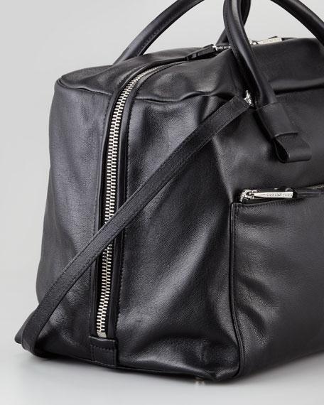 Prince Antonia Satchel Bag, Black