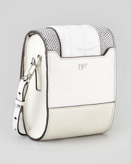 Parker Mini Crossbody Bag, Chalk White