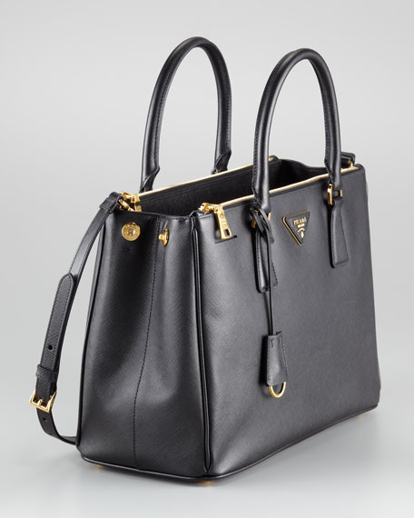c47097e5 Saffiano Small Double-Zip Executive Tote Bag