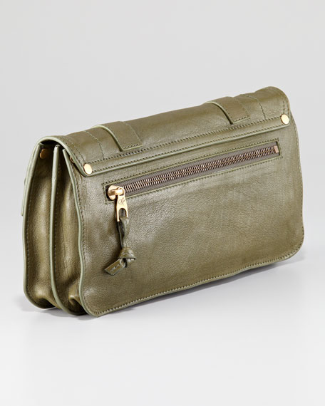 PS1 Pouchette Lambskin Clutch Bag