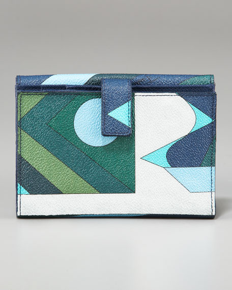 Printed French Purse