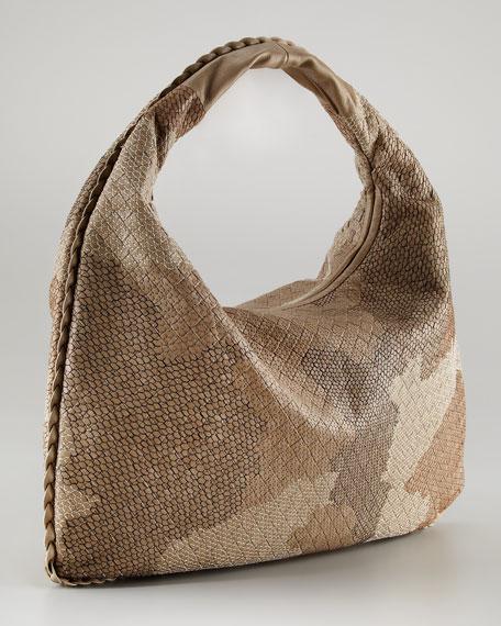 Large Patchwork Hobo Bag