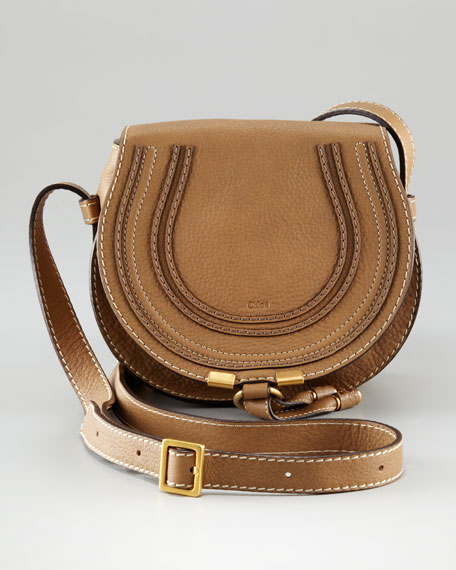blue chloe handbag - Chloe MARCIE SMALL SADDLE BAG