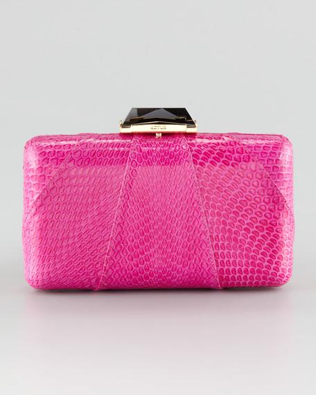 Espey Snakeskin Clutch Bag