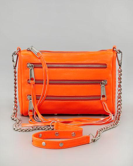 Five-Zip Mini Bag
