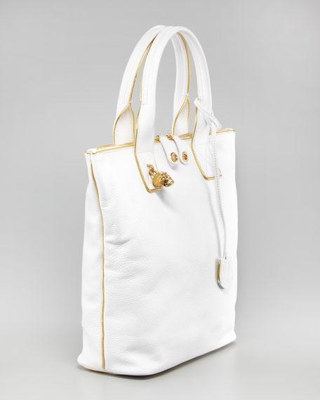 Skull Padlock Shoulder Bag