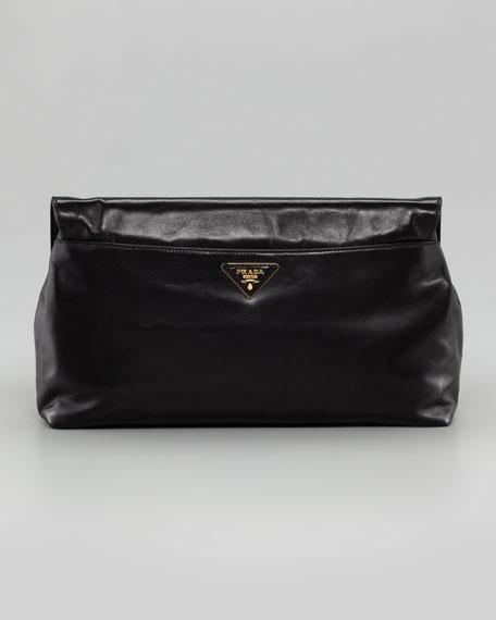 Rose Flap Clutch Bag