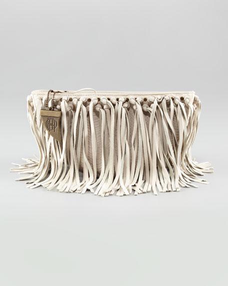 Hayden Fringe Clutch Bag