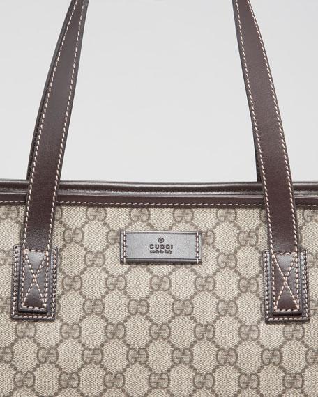 Joy Zip-Top Tote Bag, Medium
