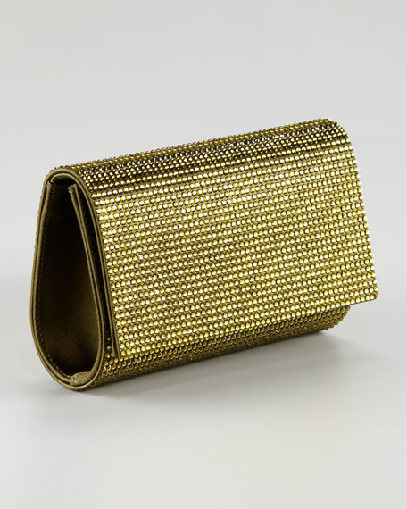 Fizzy Flap-Top Clutch Bag