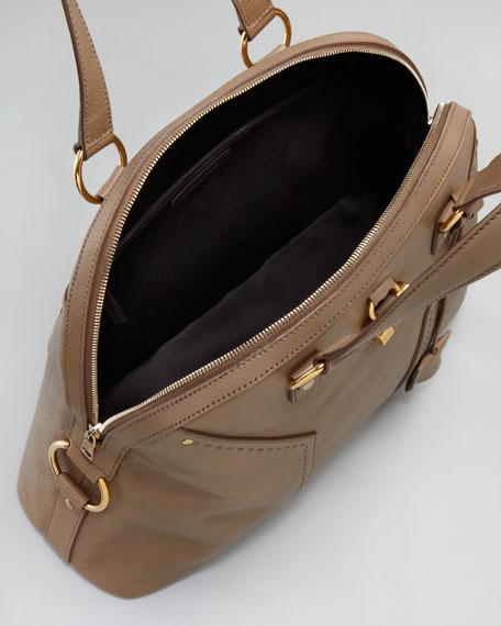 Oversize Muse Dome Satchel Bag