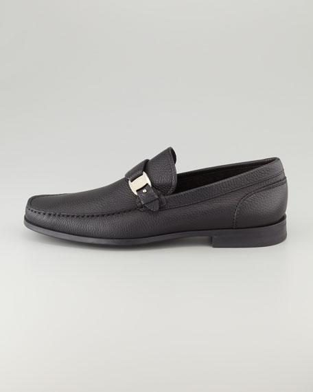 Bravo Buckle Loafer, Black