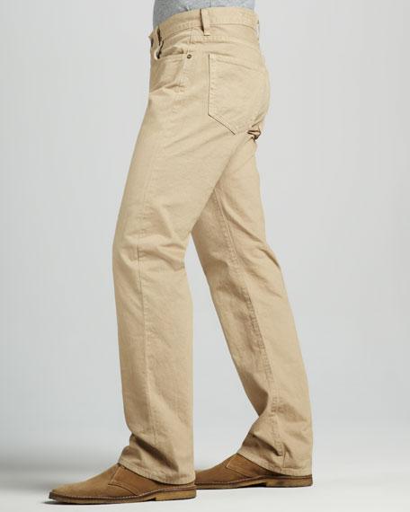 Sid Classic Straight Leg, Umber