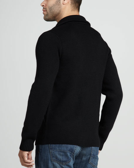 Wool Pea Coat Sweater
