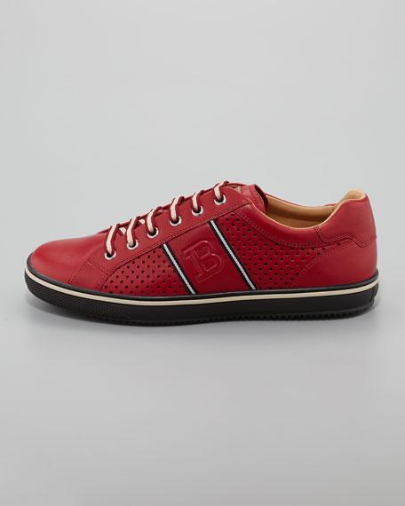 Olbiafo Calfskin Lace-Up Sneaker