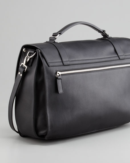 Amalfi Single-Gusset Briefcase
