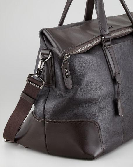 Stamford Weekender Bag Dark Brown