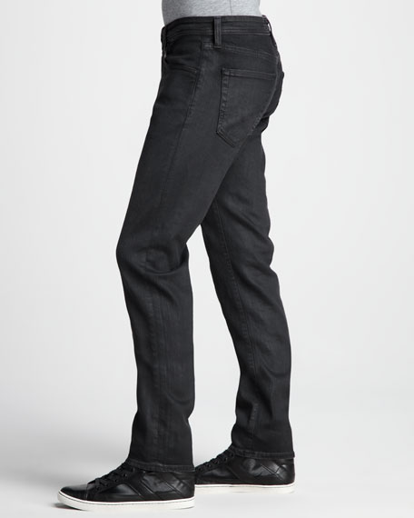 Matchbox Coated Alloy Gray Jeans