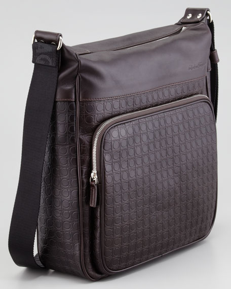 Gamma Leather Shoulder Bag
