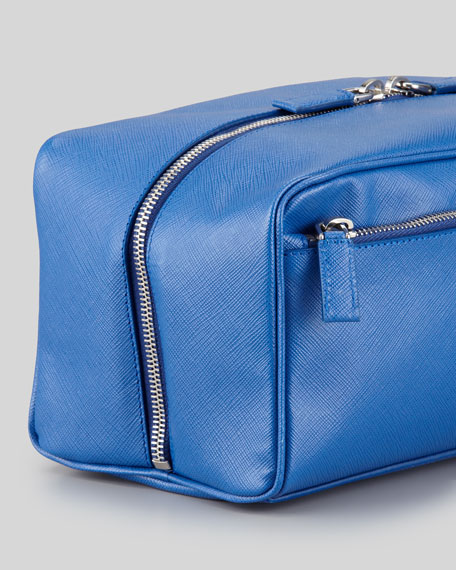 76465108ff Prada Saffiano Travel Toiletry Bag