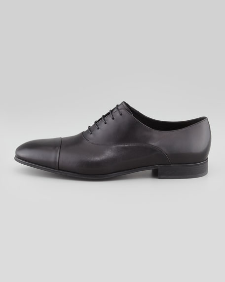 Fantino Cap-Toe Oxford, Black