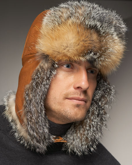 Gray Fox Hat