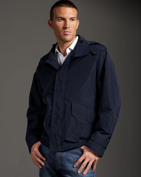 Nylon Packaway Jacket