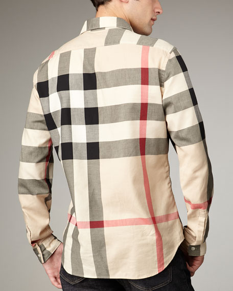Quad-Check Woven Shirt, New Classic