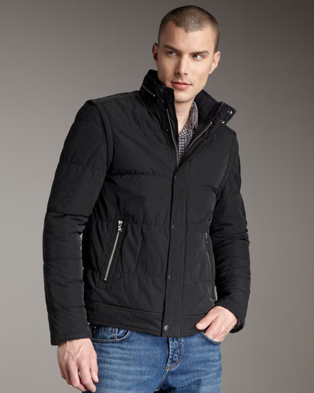 Convertible Quilted Jacket