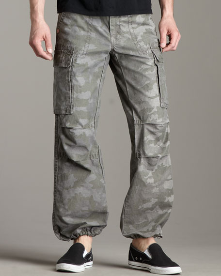 Anthony Camo Cargo Pants