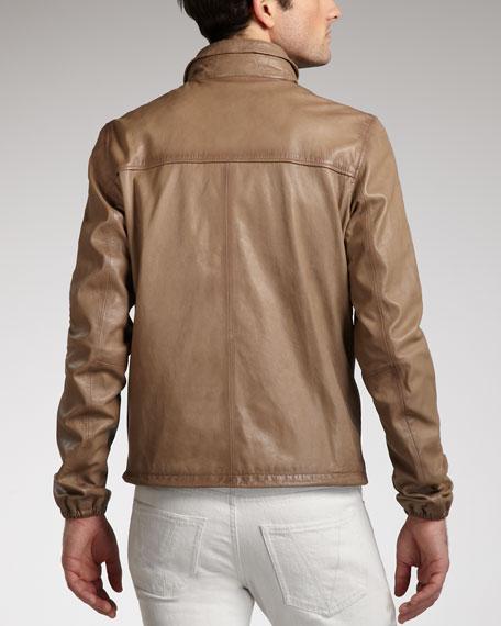 Leather Jacket, Tan