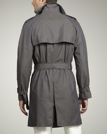 Cotton-Blend Trenchcoat