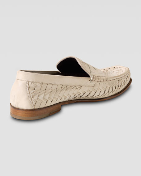 Air Tremont Woven Penny Loafer, Cream