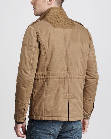 Cotton-Blend Field Jacket