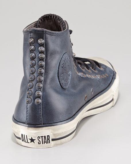 All Star Studded Hi-Top Sneaker, Black