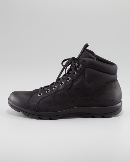 Nubuck Leather Hiker Boot