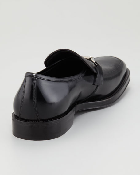 Asmara Mixed Leather Bit Loafer