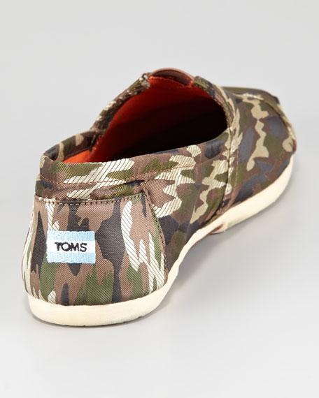 TOMS Men's Camouflage Slip-On