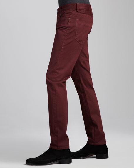 Skinny Oxblood Jeans