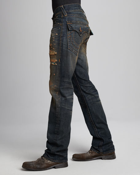 Ricky Proclamation Baja-Stripe Jeans