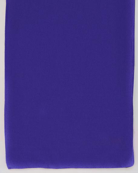 Cashmere Scarf, Empire Blue