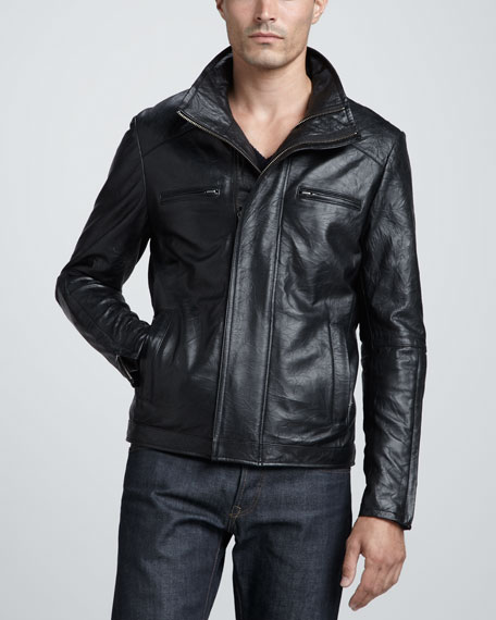 Barclay Leather Jacket