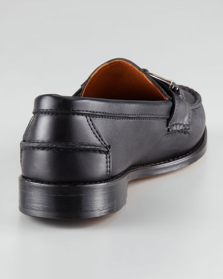 Thatcher Horsebit-Buckle Loafer