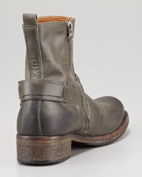 Harness Leather Boot